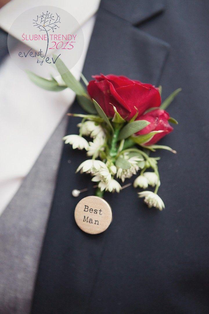 przypinki ślubne dla gości/ wedding badge