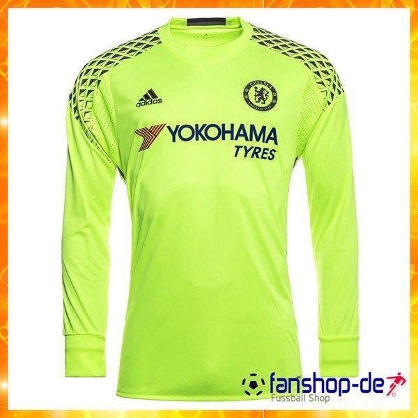 Neu FC Chelsea Torwart Langarm Trikot Gelb 2016/2017 Fanshop