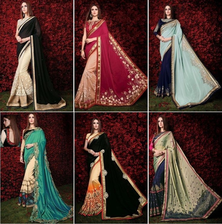 """Diwali Collection in Store. Shop for Georgette saree in latest designs and fresh colours. Visit our website for more options at https://www.vessido.com/product-category/all/sarees/ Price starts at 1,500/- only. You can Call / Whatsapp at : ( +91 )-9904049415 to order now."""