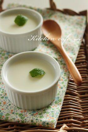 「ミルクブラマンジェ」uzukaji | お菓子・パンのレシピや作り方【corecle*コレクル】