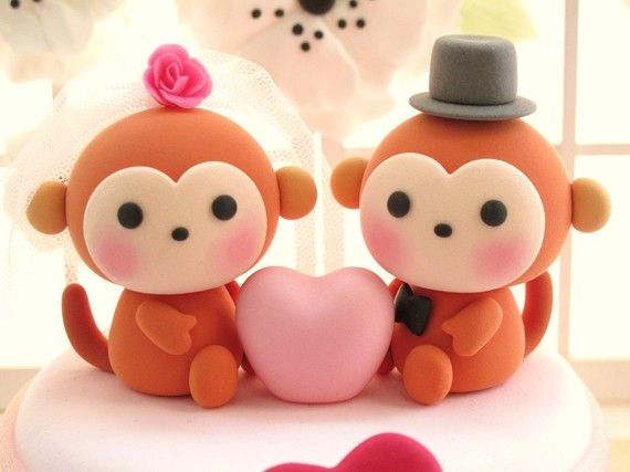Monkey topper idea