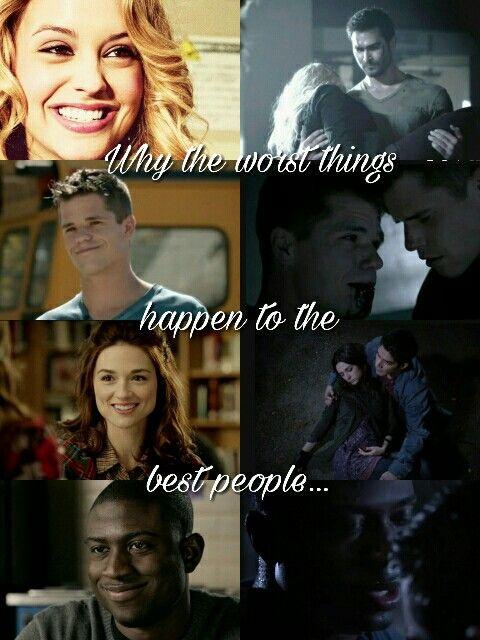 Teen Wolf, Erica Reyes, Aiden, Allison Argent, Vernon Boyd, Death, season 3