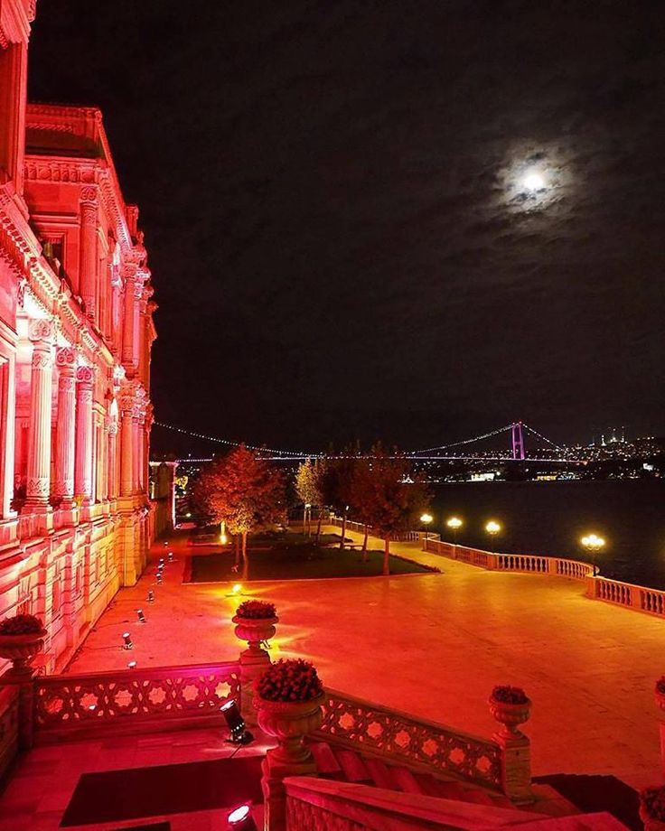 Çırağan Palace sits right across the incredible views over the Bosphorus with all of its centuries of history, inviting you to join in the grandeur!