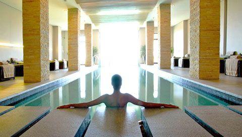 Enjoy a refreshing swim in the hotel pool.