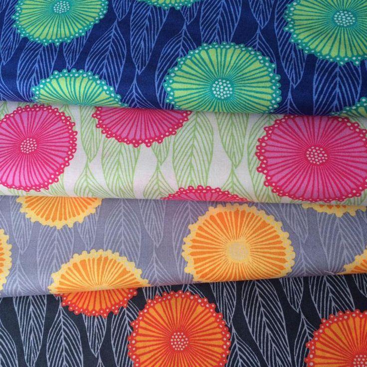 Terra Australis 2 by emma jean jansen  Gum Flowers in 4 colour ways