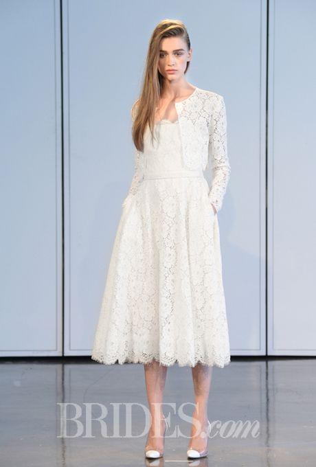 Brides.com: Houghton - Spring 2015. Wedding dress by Houghton
