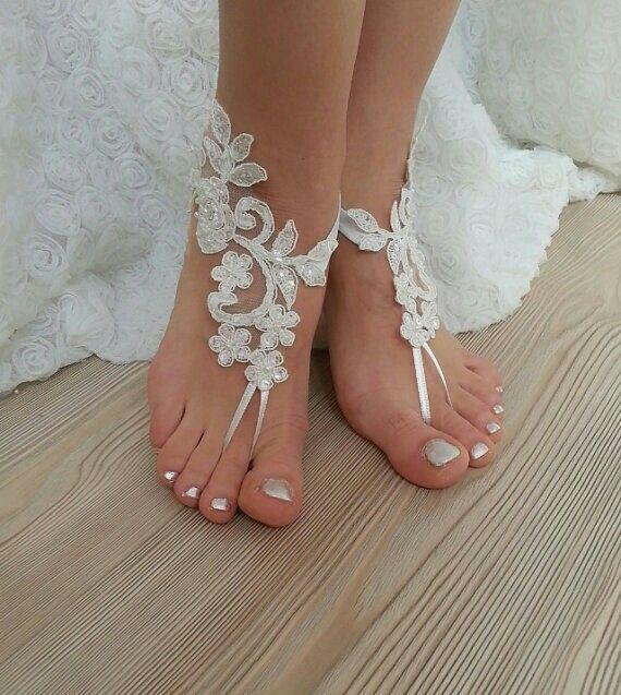 #ivory #Barefoot #beaded #scaly #pearls #french #lace #sandals  #wedding #anklet #sexy  #feet #Beach  #weddingday #barefoot #embroidered #foot #unique #etsy #etsyshop #bridesmaid #bridetobe #follow #instalike #instagood #instalove #amazing #barefootshop