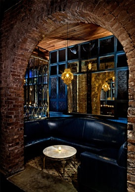 Modern speakeasy at Madam Geneva's