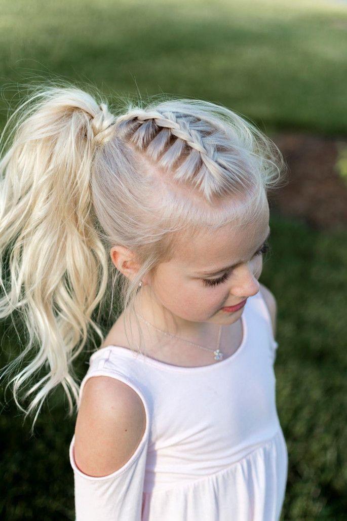Pleasant 41 Adorable Hairstyles For Little Girls Little Girl Ponytails Schematic Wiring Diagrams Phreekkolirunnerswayorg
