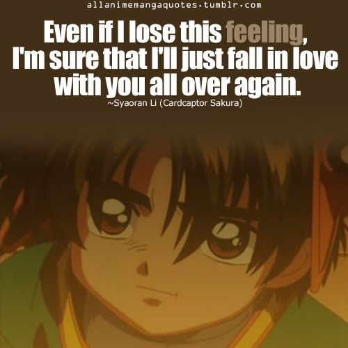 """""""Even If I Lose This Feeling. I'm Sure That I'll Just Fall"""