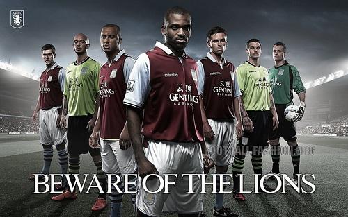 Aston Villa 2012/13 Macron kit