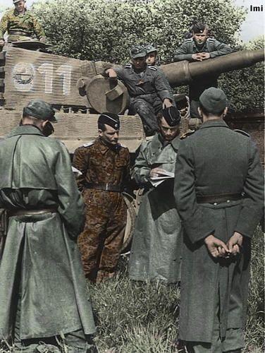 Segunda guerra mundial a color