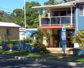 Marina Holiday Park, Holiday Accommodation in Port Macquarie, Looking for a pet friendly holiday accommodation in NSW this summer? check out www.OzeHols.com.au/76  #petfriendly #australia #travel #holiday #vacation