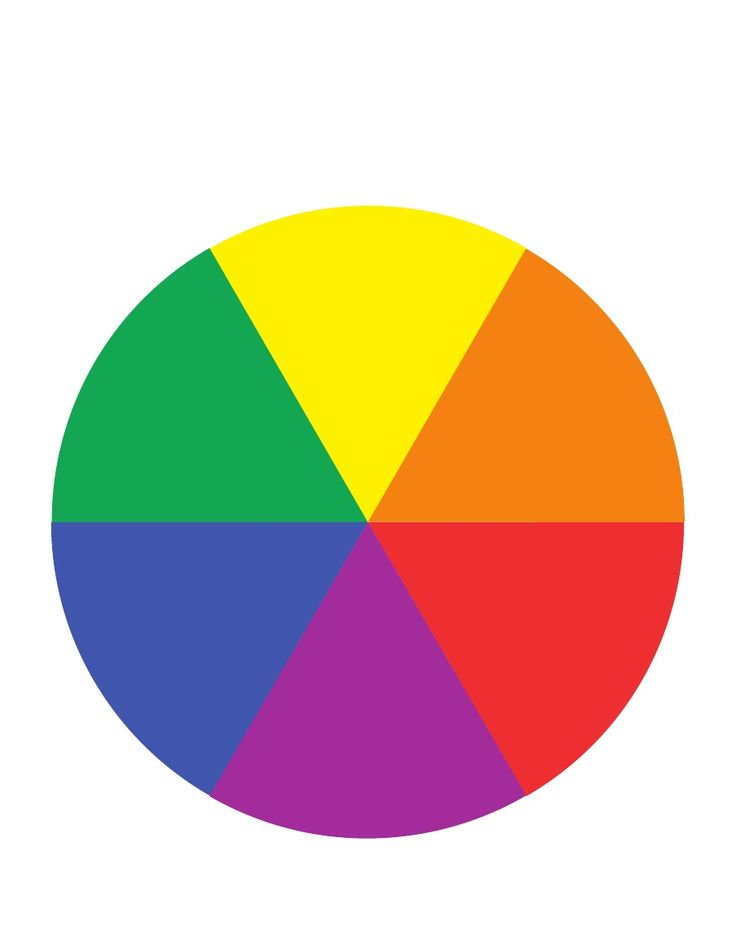 Color Spinner Template color wheels, wheels and secondary color on ...