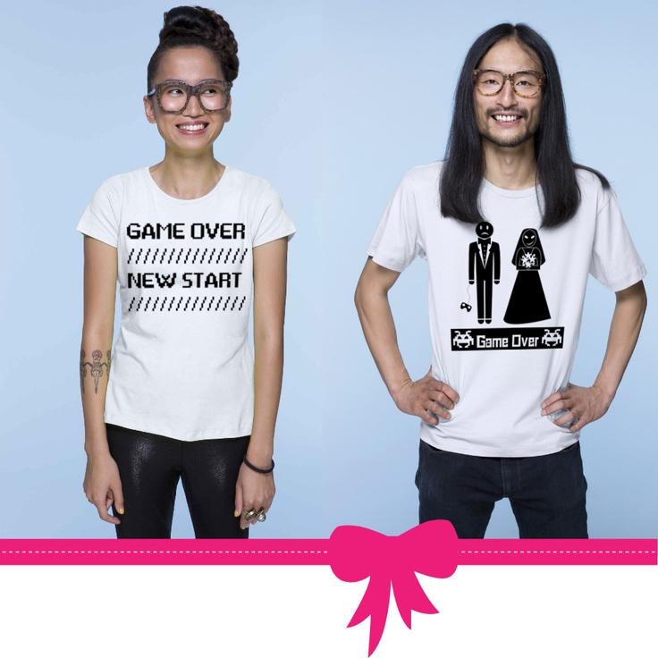 la classica t-shirt personalizzata per gli sposi! Tutte le grafiche qui: http://www.eshirt.it/gallery/index.php?folder=/amore/matrimonio/