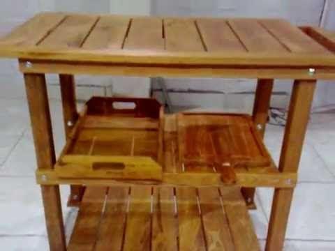 carrinho gourmet para churrasco - BBQ grill cart