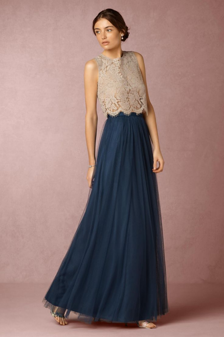 Blue Opal Louise Tulle Skirt | BHLDN