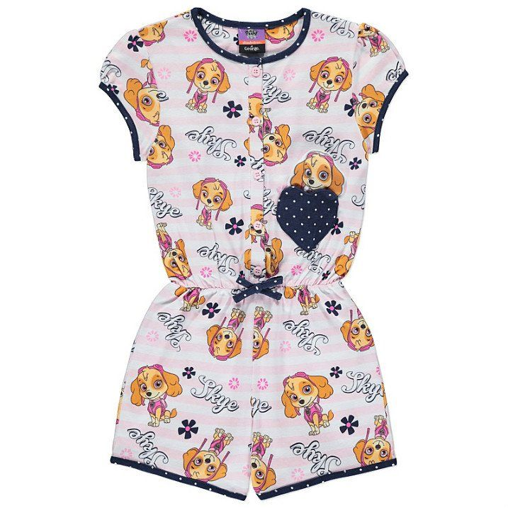 Girls Paw Patrol Skye Playsuit