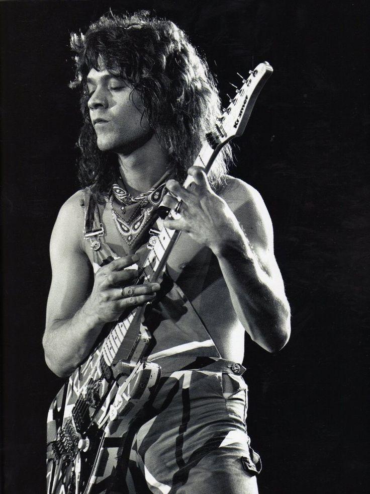 Eddie Van Halen tapping  Great guitarist