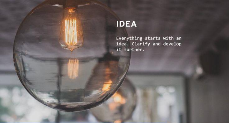 You Need an Idea