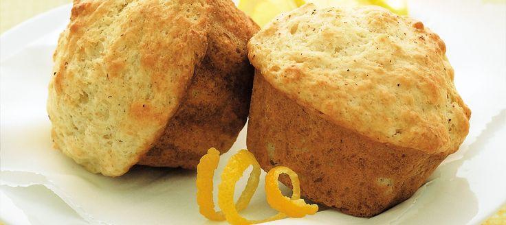 Un muffin idéal à toute heure du jour grâce à sa texture moelleuse et son éclat de saveur citronnée.