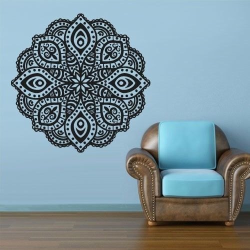 Bohe Mandala Flower Wall Paper Decor Yoga Studio Vinyl: 25+ Best Ideas About Buddha Symbols On Pinterest