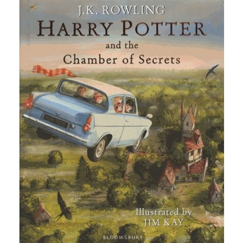 Harry Potter and the Chamber of Secrets - Livre Livres Jeunesse Bilingues