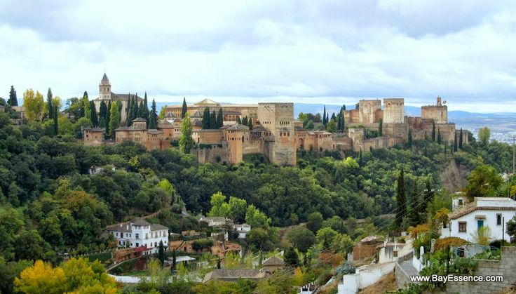 A view of the Alhambra from Sacromonte | Granada, Spain | www.bayessence.com