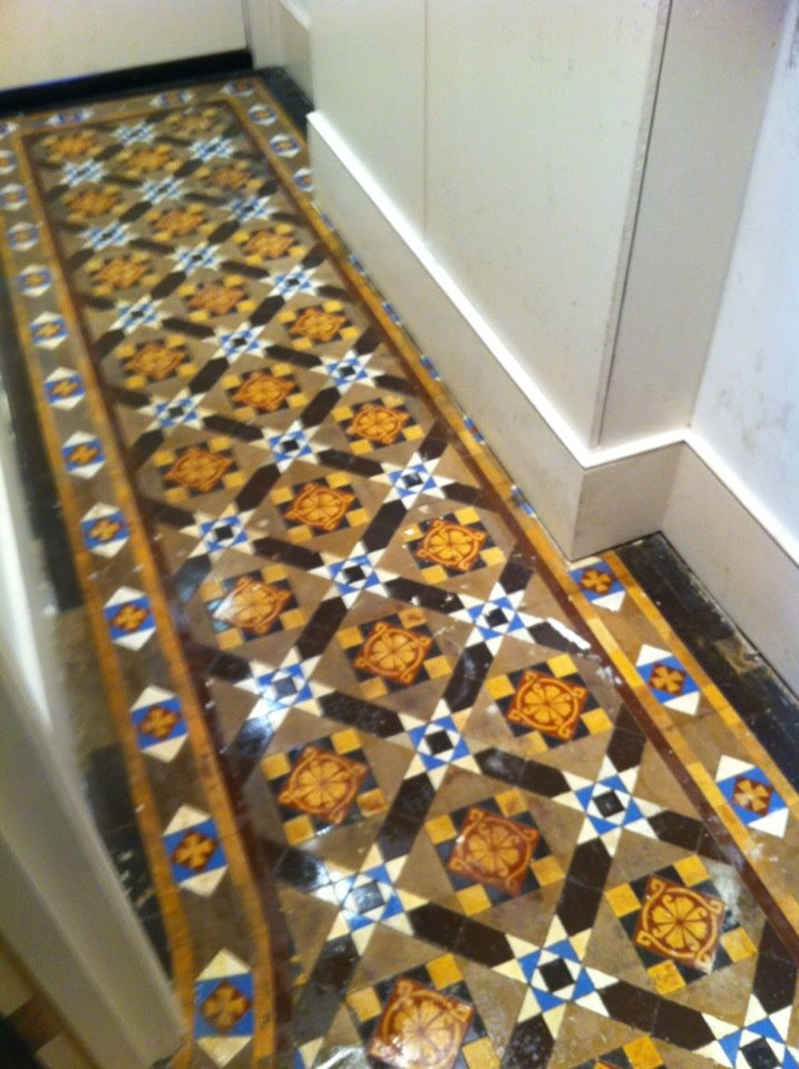 Edwardian tessellated tiling