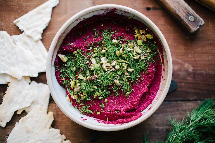 Smoky Beetroot Hummus // The Year in Food