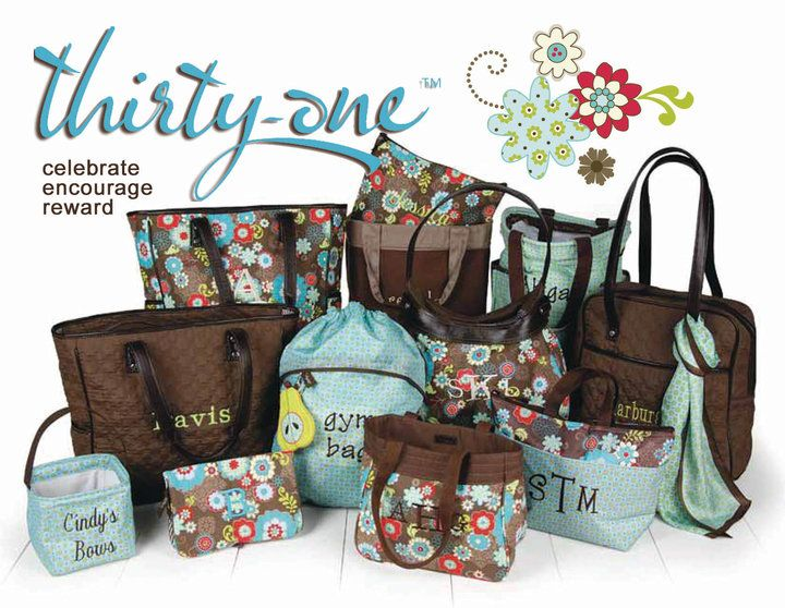 I LOVE the Thirty-one products! If you haven't heard of this company before let me introduce you to fabulous, trendy and organizational bags, totes and purses.  www.mythirtyone.com/meganjennings