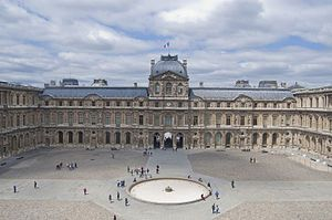 Louvre Palace - constructed in 1546 new wings were constantly being added extending the palace for about 1600ft. and each wing has a different name for it