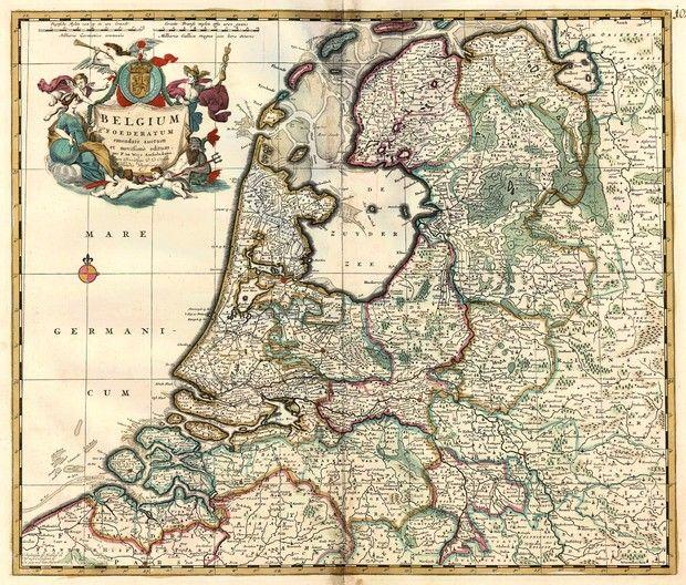 200 Best Golden Age Maps Mappen Images On Pinterest Holland: Tiel Netherlands Map At Infoasik.co