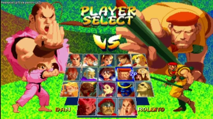 Street Fighter Alpha 2 - heavycel vs pantro Part 1