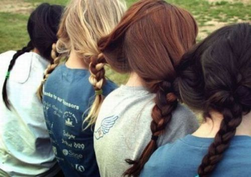 . . . these girls are braided together . . .  your argument is invalid.