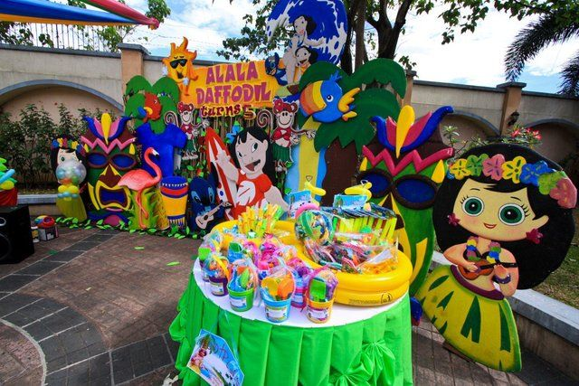 lilo+and+stitch+birthday+party+theme | Lilo and Stitch Luau Party Birthday Party Ideas | Photo 25 of 28 ...