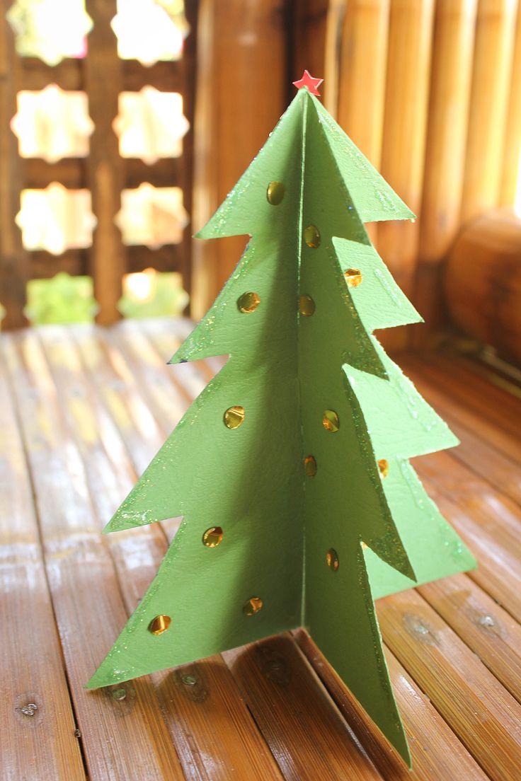 41 Best ΧΡΙΣΤΟΥΓΕΝΝΙΑΤΙΚΑ ΔΕΝΤΡΑ από ΧΑΡΤΙ Images On Pinterest  - Make 3d Christmas Tree