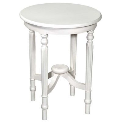 Tono White Round Table