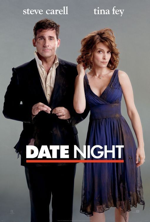 IMDb: Best Comedy Movies - a list by Tammy_Munoz -- Film poster for Date Night hilarious comedy film featuring Steve Carell and Tina Fey, this belongs in cinematography because it represents the film.