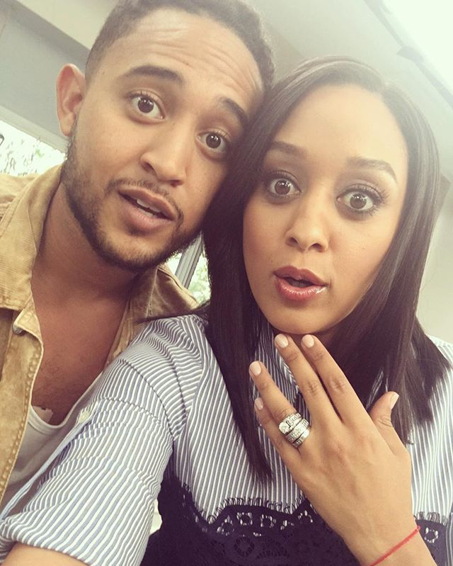 Do we look alike? @tahj_mowry  #tiamowryathome #cookingchannel  #thanksgivingspecial
