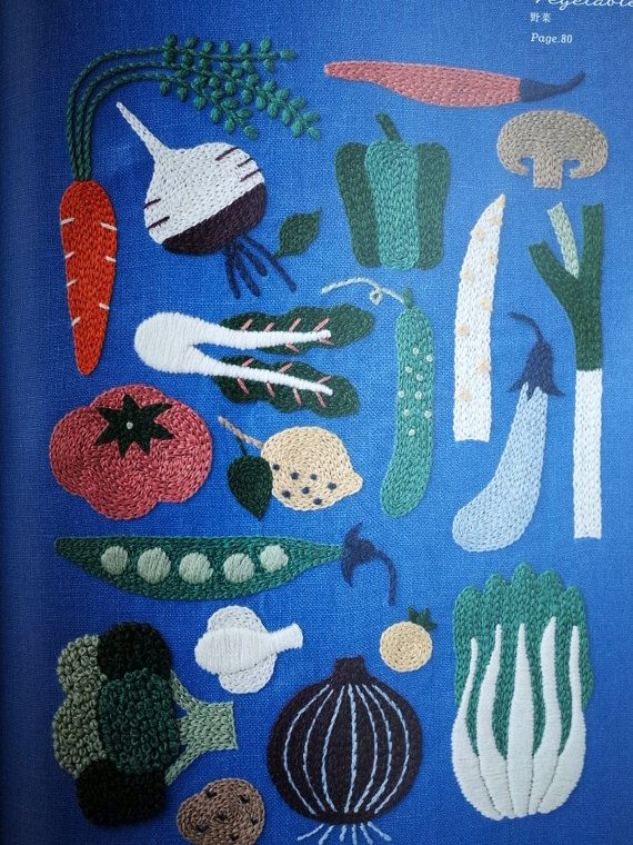 12-maand borduurwerk door Yumiko Higuchi  Japanse Craft boek