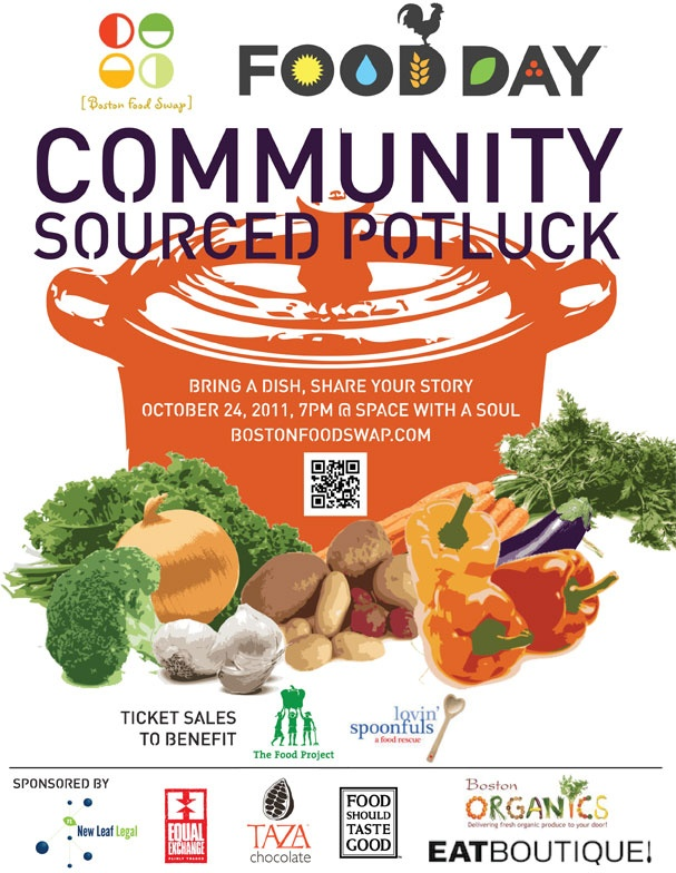 1st Annual Food Day CSP flyer