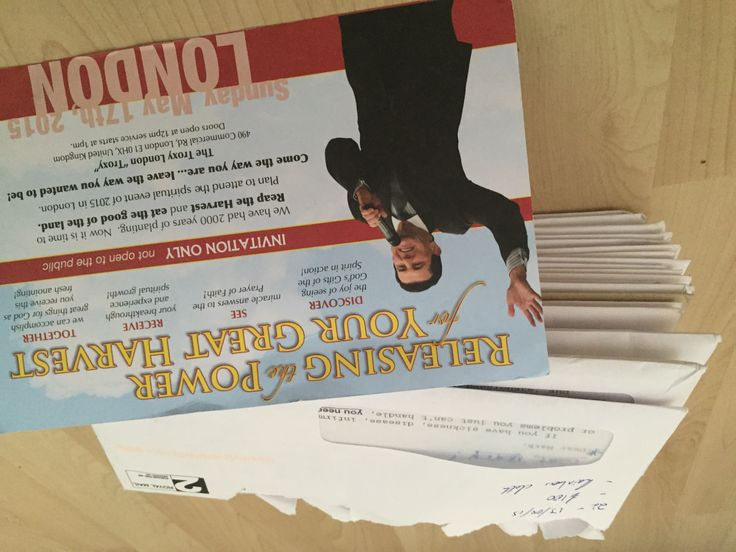 """Fake Faith Healer Peter Popoff, letters and """"gifts"""" along with the donation amount solicited in PDF form. Some are actually pretty funny."""
