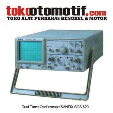 Kode : 26000000111 Nama : Dual Trace Oscilloscope SANFIX SOS 620 Merk : SANFIX Tipe : SOS 620 Status : Siap Berat Kirim : 6 Kg