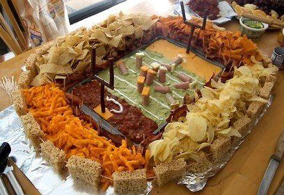Superbowl food I want to be crafty for Super Bowl