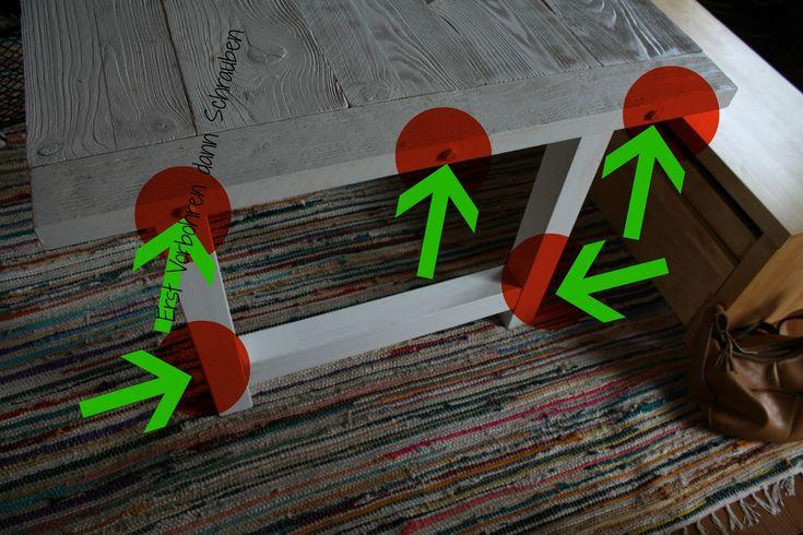Tisch selberbauen