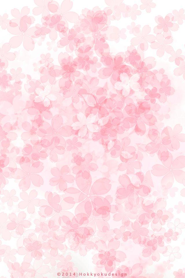 桜色の花柄 | Girlyなi… | iPhone壁紙ギャラリー