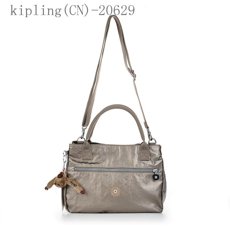 Silver Handbags Messenger Bag with Monkey Chain Kipling 20629