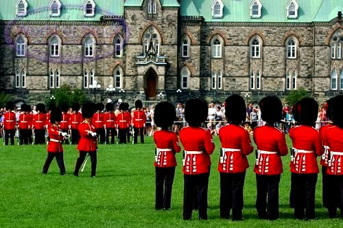 Changing of the Guard Parliament Hill. www.storylinepr.ca