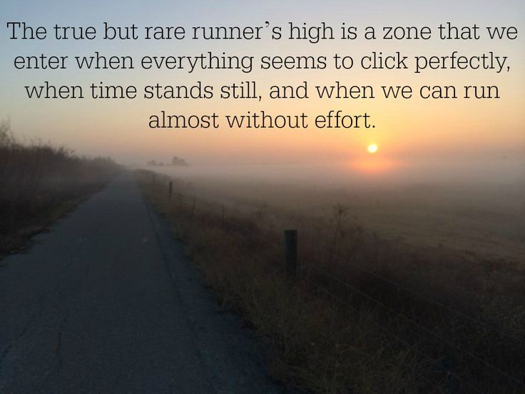 The runner's high. The way I look in the mirror. The way I feel when I get up every morning. You can have your hangover, I'll take my aching happy muscles ready for more!!